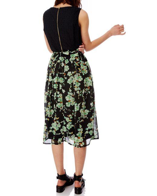 Платье Myla London                                                                                                              зелёный цвет