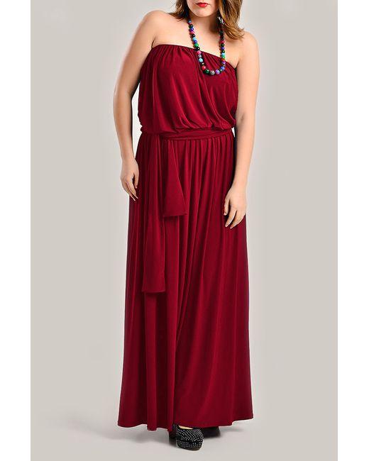 Платье Moda di Lorenza                                                                                                              красный цвет