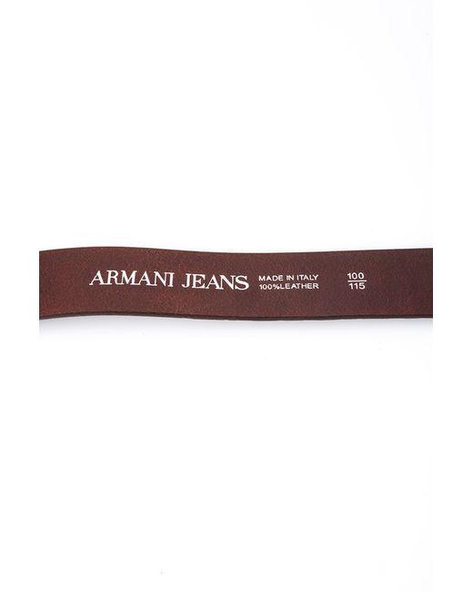 Ремень ARMANI JEANS                                                                                                              коричневый цвет