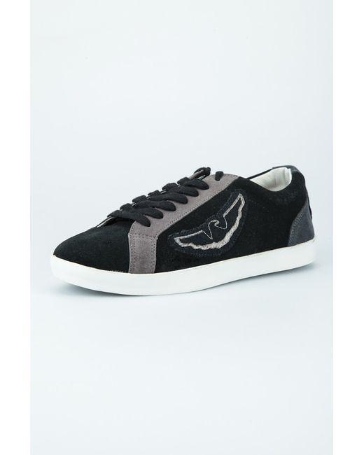 Туфли ARMANI JEANS                                                                                                              чёрный цвет