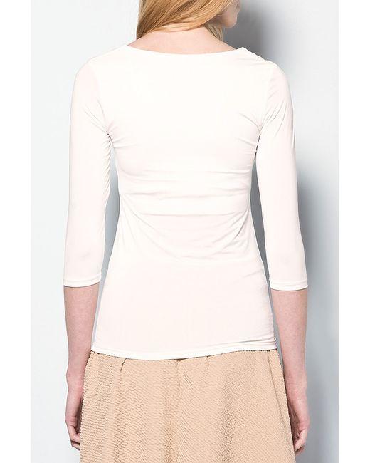 Блузка Dilvin                                                                                                              белый цвет