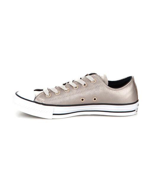 Кеды Converse                                                                                                              Серебряный цвет