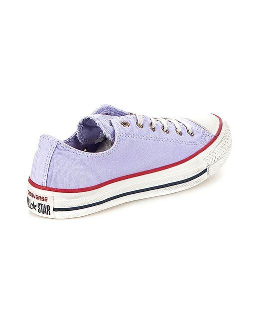 Кеды Converse                                                                                                              фиолетовый цвет