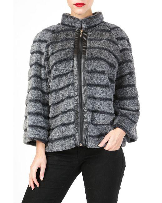 Куртка DONNA ENRICA                                                                                                              серый цвет