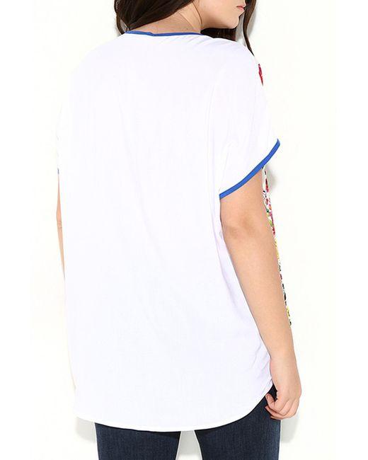 Рубашка Zer Otanik                                                                                                              белый цвет