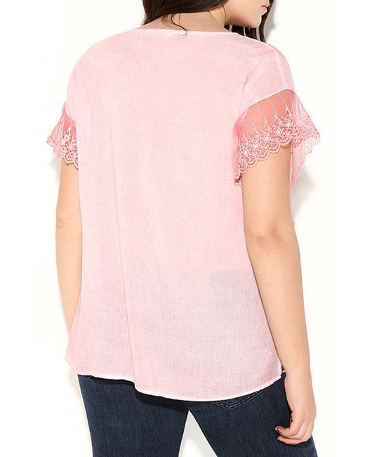 Блузка Zer Otanik                                                                                                              розовый цвет