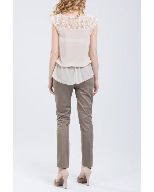 Блузка NUNA LIE                                                                                                              бежевый цвет