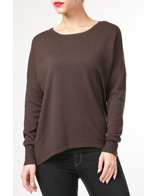 Джемпер BARBARESI                                                                                                              коричневый цвет