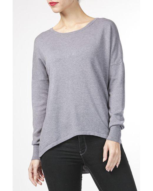 Пуловер BARBARESI                                                                                                              серый цвет