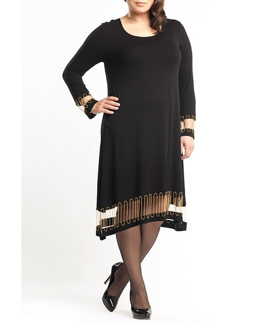 Платье Moda di Lorenza                                                                                                              чёрный цвет