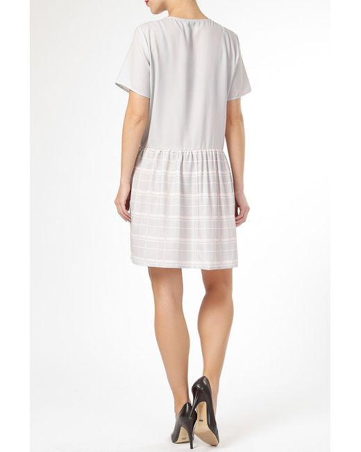 Платье By Zoe                                                                                                              серый цвет
