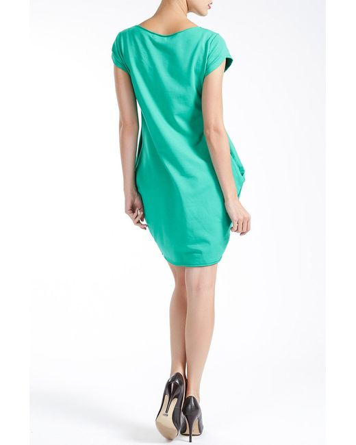 Платье MBYMAIOCCI                                                                                                              зелёный цвет