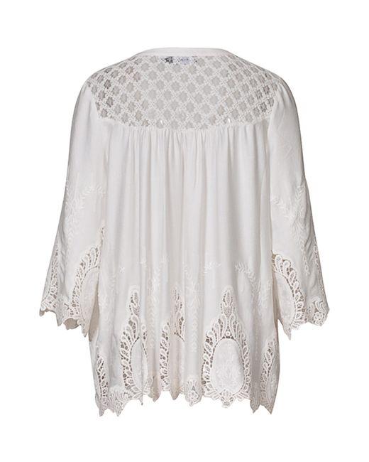 Рубашка Myrine                                                                                                              белый цвет