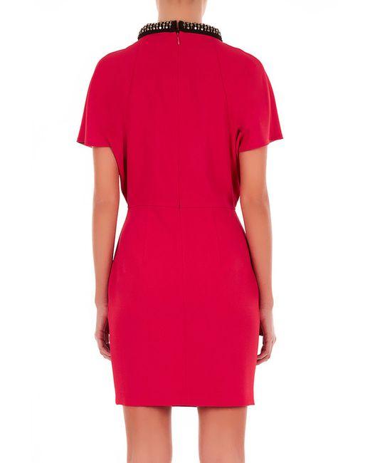 Платье ATOS LOMBARDINI                                                                                                              красный цвет