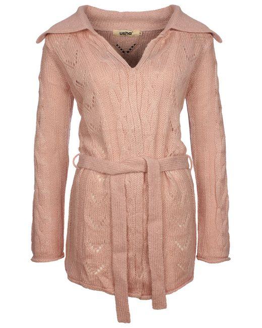 Кардиган Usha                                                                                                              розовый цвет