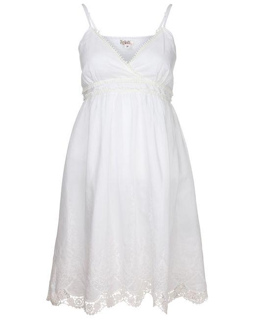 Платье Usha                                                                                                              белый цвет