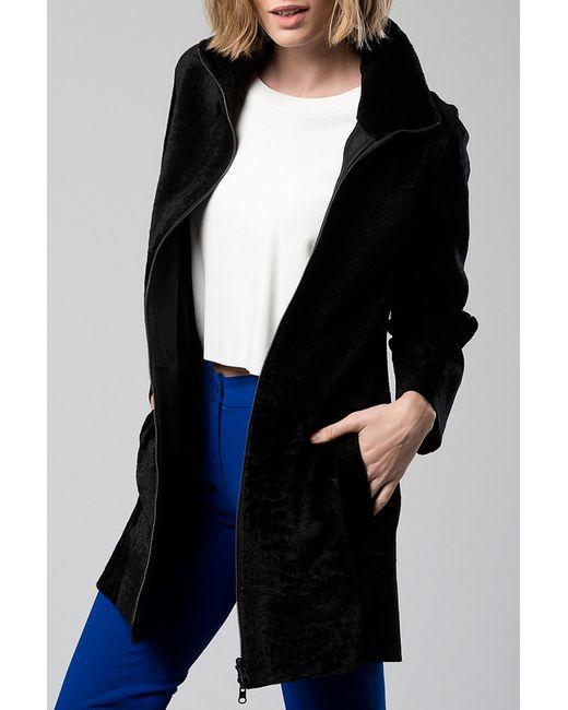 Пальто DERI&MOD                                                                                                              чёрный цвет