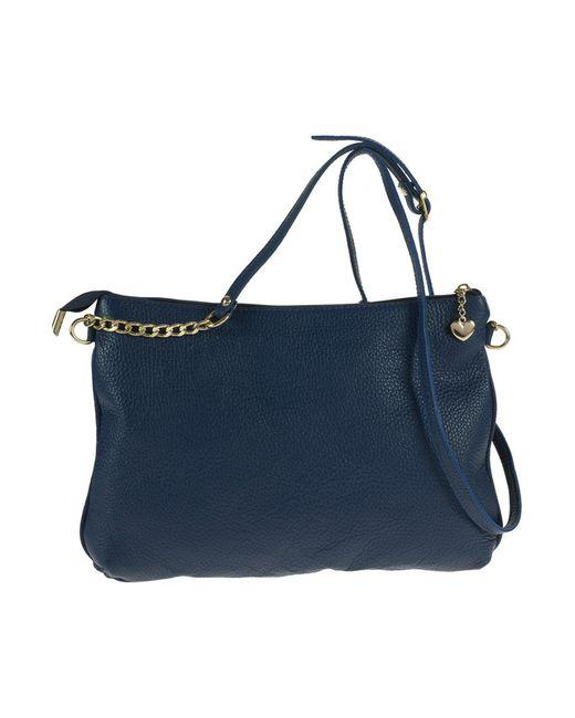 Сумка FLORENCE BAGS                                                                                                              синий цвет