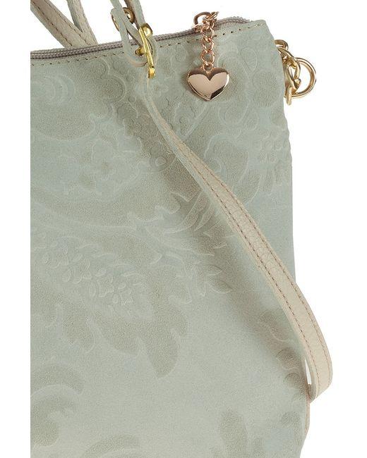 Сумка FLORENCE BAGS                                                                                                              серый цвет