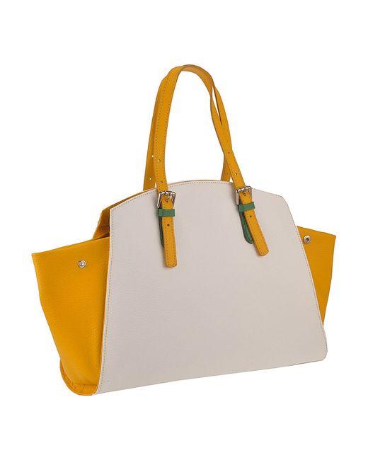 Сумка FLORENCE BAGS                                                                                                              желтый цвет