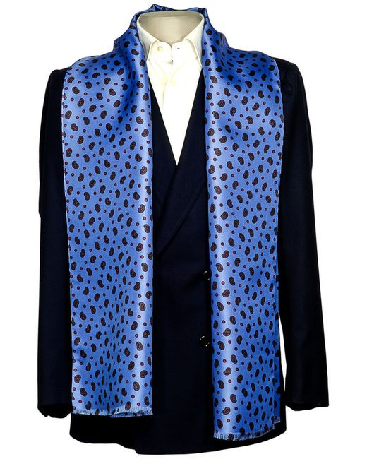 Шарф BELSIRE MILANO                                                                                                              синий цвет