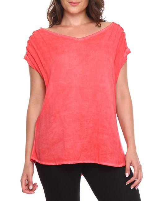 Блузка Zer Otanik                                                                                                              красный цвет