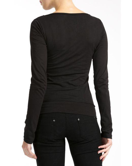 Лонгслив Lea Fashion                                                                                                              чёрный цвет