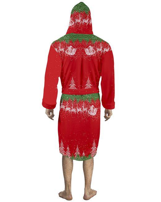 Халат CHRISTMAS HOME                                                                                                              зелёный цвет