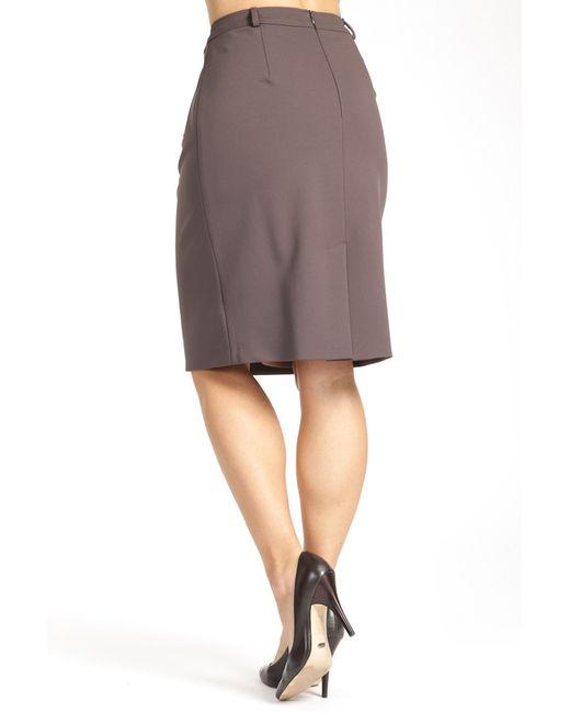 Юбка Paola Collection                                                                                                              коричневый цвет
