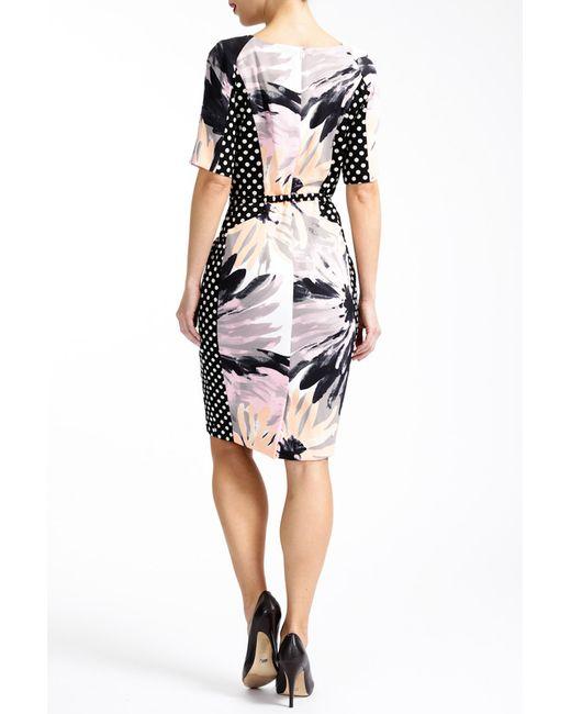 Платье Paola Collection                                                                                                              многоцветный цвет