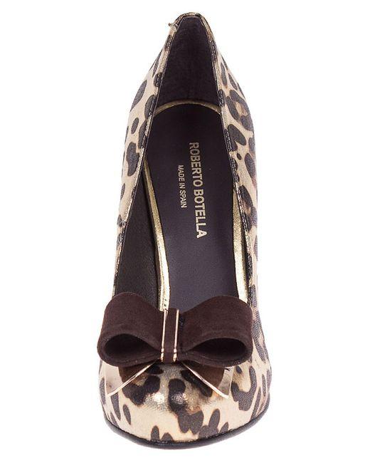Туфли Roberto Botella                                                                                                              коричневый цвет