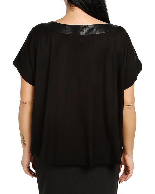 Блузка Milanesse                                                                                                              чёрный цвет