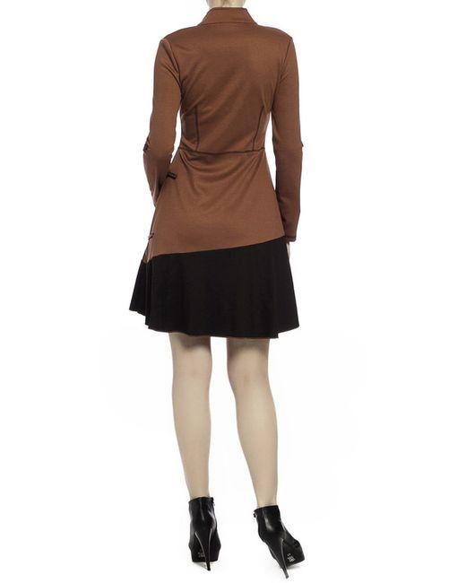 Платье Milanesse                                                                                                              коричневый цвет