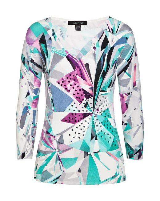 Пуловер IMAGINI                                                                                                              многоцветный цвет