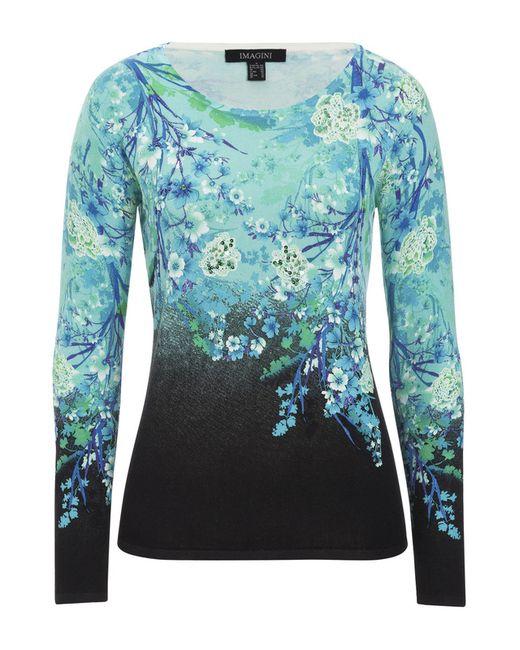 Пуловер IMAGINI                                                                                                              голубой цвет