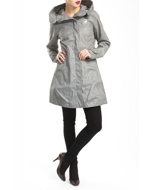 Пальто FINSIDE                                                                                                              серый цвет