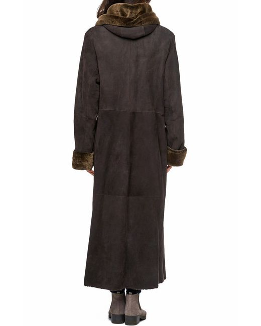 Дубленка Jean Guise                                                                                                              коричневый цвет