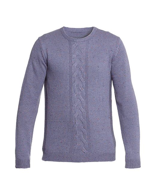Пуловер Troll                                                                                                              фиолетовый цвет