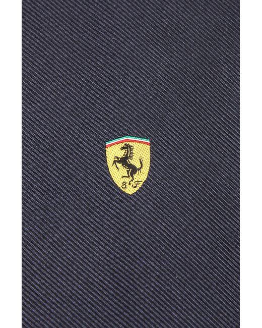 Галстук Ferrari                                                                                                              синий цвет