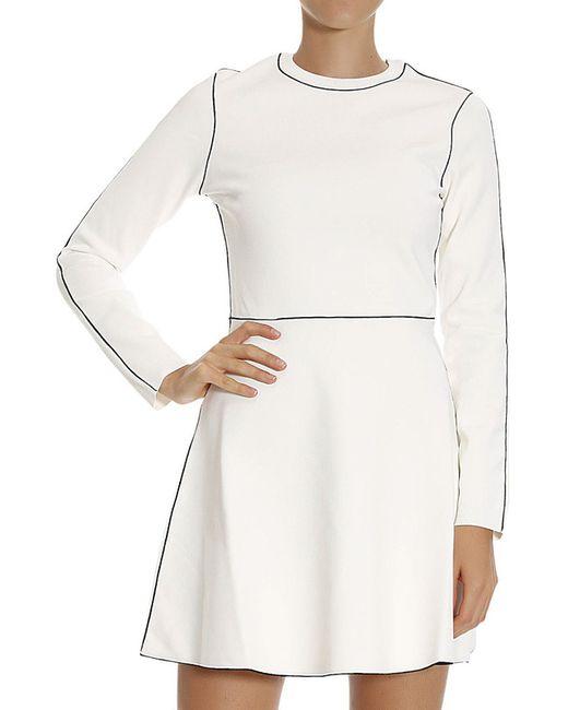 Платье Valentino                                                                                                              белый цвет
