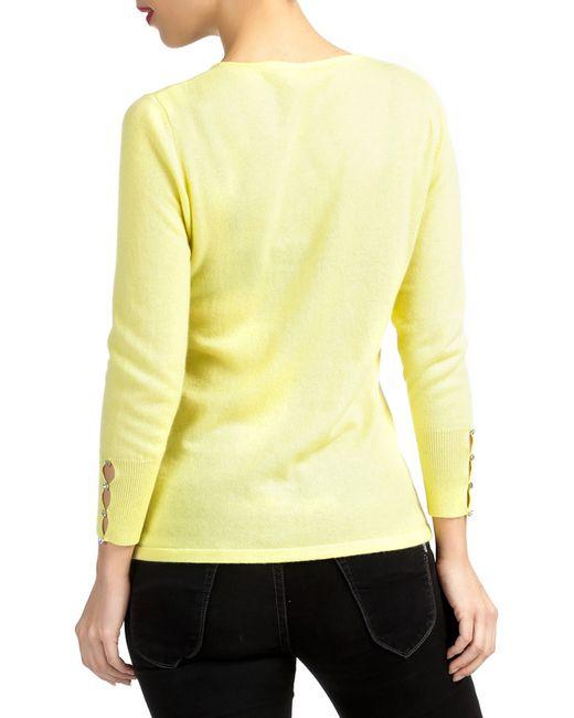 Джемпер Les Ateliers De La Maille                                                                                                              желтый цвет