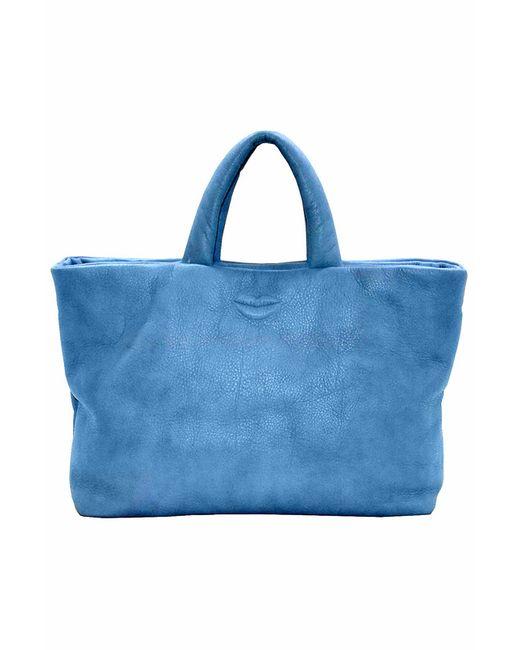 Сумка pelle Italia                                                                                                              синий цвет