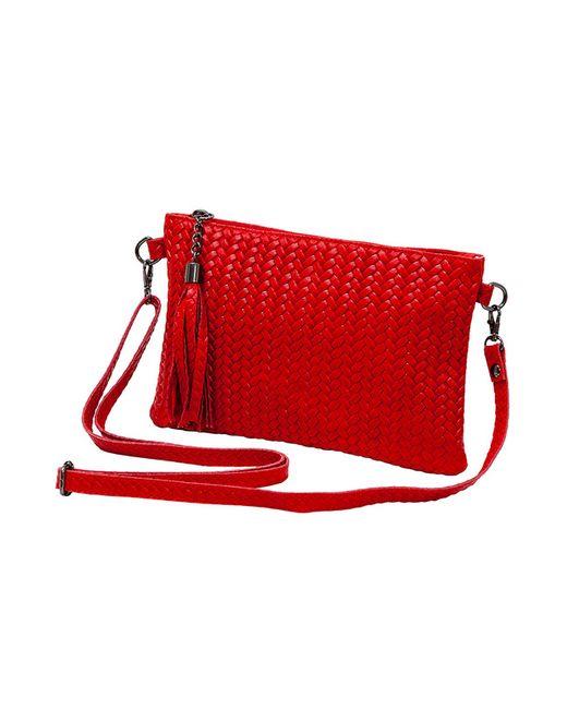 Сумка Elis Milano                                                                                                              красный цвет