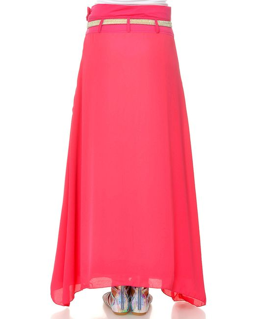 Юбка Ki6 collection                                                                                                              розовый цвет