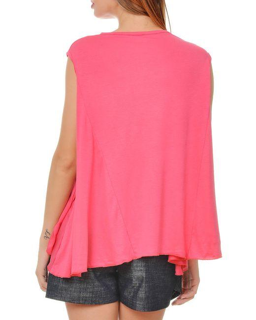 Майка Ki6 collection                                                                                                              розовый цвет