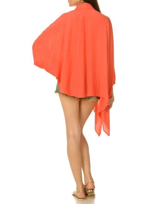 Блузка Ki6 collection                                                                                                              оранжевый цвет