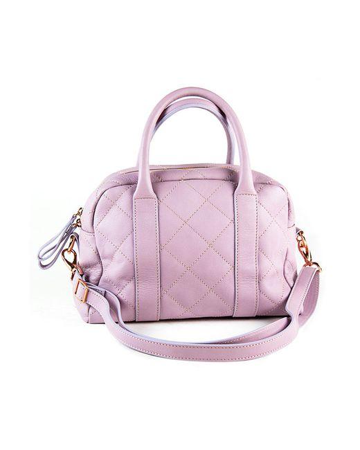 Сумка pelle Italia                                                                                                              фиолетовый цвет