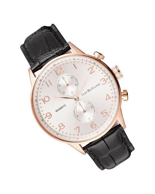 Часы JEAN BELLECOUR                                                                                                              чёрный цвет
