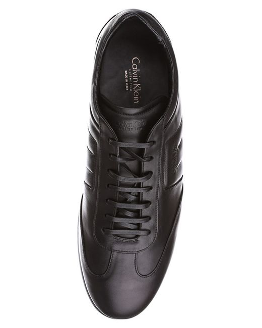 Кеды Calvin Klein                                                                                                              чёрный цвет