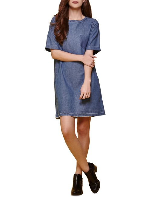 Платье Yumi                                                                                                              синий цвет